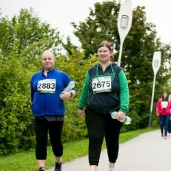 Jüri Jaansoni Kahe Silla jooks - Kadri Järv (2675), Merilin Sulp (2883)