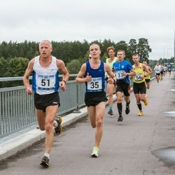 Jüri Jaansoni Kahe Silla jooks - Karol Hanga (35), Ago Veilberg (51)