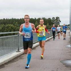 Jüri Jaansoni Kahe Silla jooks - Janar Juhkov (32), Andres Hellerma (1962)