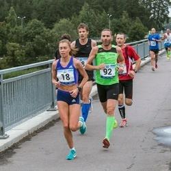 Jüri Jaansoni Kahe Silla jooks - Birgit Pihelgas (18), Kaido Vahkal (92)