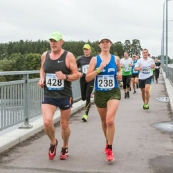Jüri Jaansoni Kahe Silla jooks - Silja Jürs (238), Tarmo Välba (428)