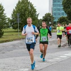 Jüri Jaansoni Kahe Silla jooks - Raido Puust (270), Martin Viktorovitš (274)