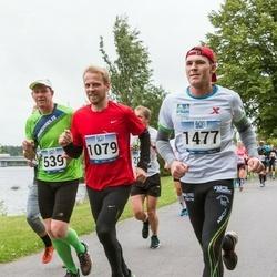 Jüri Jaansoni Kahe Silla jooks - Taavi Korjus (1079), Mikk Raud (1477)