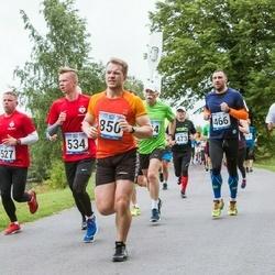 Jüri Jaansoni Kahe Silla jooks - Daniel Danieljants (466), Stig Benström (850)
