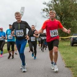Jüri Jaansoni Kahe Silla jooks - Juhan Paabstel (530), Toomas Jürisoo (746)