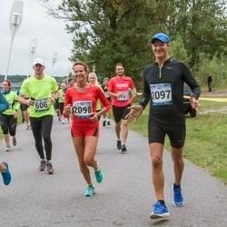 Jüri Jaansoni Kahe Silla jooks - Bruno Tammaru (2097), Kristina Uibo (2098)