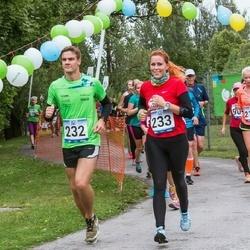 Jüri Jaansoni Kahe Silla jooks - Kristo Jesse (232), Aivar Jesse (233)