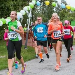 Jüri Jaansoni Kahe Silla jooks - Jekaterina Luzik (1226), Taago Tamm (1648), Diandra Suitso (2156)