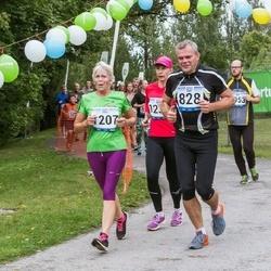Jüri Jaansoni Kahe Silla jooks - Aarne Annamaa (828), Mare Liukanen (1207)
