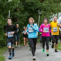 Jüri Jaansoni Kahe Silla jooks - Kevin Kelder (1033), Ulvi Laneman (1156), Keneth Saartson (1541), Merike Tohv (1713)