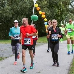 Jüri Jaansoni Kahe Silla jooks - Liina Kaabel (984), Hillar Karik (1012)