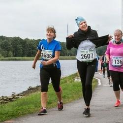 Jüri Jaansoni Kahe Silla jooks - Mall Köiv (1136), Eidi Aidla (2607), Anne-Lii Kaldvee (2688)