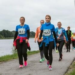 Jüri Jaansoni Kahe Silla jooks - Leeni Almosen (2611), Heleri Iloste (2657)