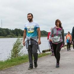 Jüri Jaansoni Kahe Silla jooks - Katrin Sihver (2871), Grete-Liisa Sihver (2872)