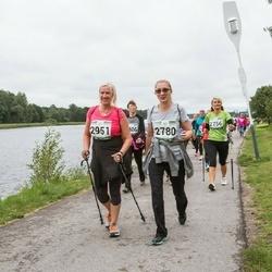 Jüri Jaansoni Kahe Silla jooks - Illme Miilimaa (2780), Krista Visas (2951)