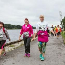 Jüri Jaansoni Kahe Silla jooks - Ülle Janson (2665), Anneli Talts (2900), Külli Talts (3023)