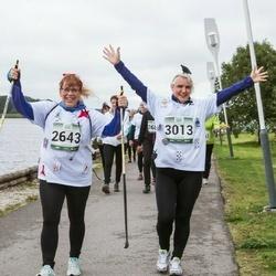 Jüri Jaansoni Kahe Silla jooks - Õrne Haasma (2643), Reet Rattiste (3013)