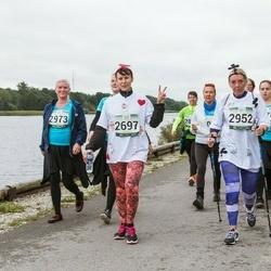 Jüri Jaansoni Kahe Silla jooks - Erika Kattel (2697), Monika Viskus (2952), Terje Aron (2973)
