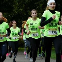 Nike Noortejooks/ We Run Tallinn - Õilme Võro (6), Arina Jermitsova (729), Lisbeth Neevits (1725), Merili Valdaru (2783)