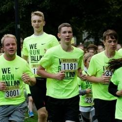 Nike Noortejooks/ We Run Tallinn - Kristjan Luks (1181), Arina Rõbakova (1343), Alo Puusepp (3001)