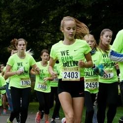 Nike Noortejooks/ We Run Tallinn - Maria Annabel Vainumäe (1762), Anita Gudovskaja (2403), Bruno Kaarel Jaanson (2649)