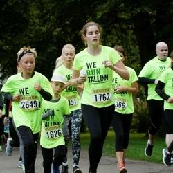 Nike Noortejooks/ We Run Tallinn - Martin Meisalu (635), Maria Annabel Vainumäe (1762), Anni Ratas (1980), Bruno Kaarel Jaanson (2649)