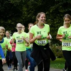 Nike Noortejooks/ We Run Tallinn - Anna Tisler (481), Oliver Tiit (1344), Laura-Liis Järvela (1781), Kirke Mardim (3207)