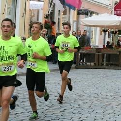 Nike Noortejooks/ We Run Tallinn - Artur Melkumjan (237), Marten Aun (284), Silver Saatväli (882)