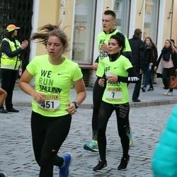 Nike Noortejooks/ We Run Tallinn - Liisa Leetma (7), Karina Toming (451), Artur Ševerev (1553)