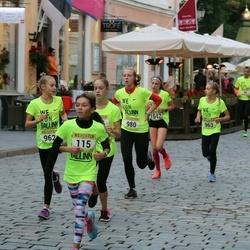 Nike Noortejooks/ We Run Tallinn - Anna-Maria Semjonova (115), Laura Mintals (962), Monika Mintals (963), Hanne Tõnts (980)