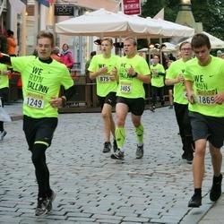 Nike Noortejooks/ We Run Tallinn - Taavi Toommägi (875), Toivo Saabas (1249), Artjom Alektorov (1869), Argo Paavel (3465)