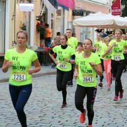 Nike Noortejooks/ We Run Tallinn - Brigitta Lees (597), Kevin Põldsam (664), Liis Geltmann (1251), Raili Kukk (2479), Isabel Mae (2647)
