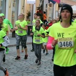 Nike Noortejooks/ We Run Tallinn - Cindella Lakson (1160), Annika Õisnurm (1190), Eliise Tuulemäe (1908)