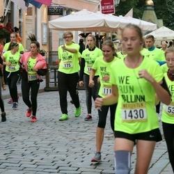 Nike Noortejooks/ We Run Tallinn - Bogdan Seljanko (175), Ksenia Fedorova (536), Kertu Jõgi (1370)