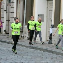 Nike Noortejooks/ We Run Tallinn - Lilla Mlinarik (619), Marju Linda Peek (1217), Andella Tsilk (1224), Helena Viir (3023)