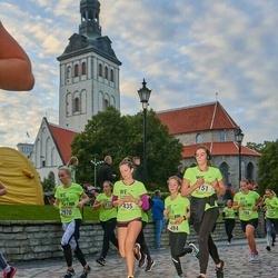 Nike Noortejooks/ We Run Tallinn - Aleksandra Vinogradova (151), Madleen Tõnisson (435), Mia Mõisnik (484), Silvia Torn (2970)