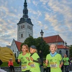 Nike Noortejooks/ We Run Tallinn - Maria Rander (757), Amalia Litvinova (2880), Anastasia Martõnenko (2881)