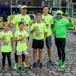 Nike Noortejooks/ We Run Tallinn - Kristofer Pedai (814), Artur Sepp (1057), Aron Sepp (1058)