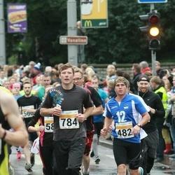 SEB Tallinna Maratoni Sügisjooks 10 km - Tarvo Mets (482), Meelis Ainjärv (784)