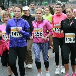 SEB Tallinna Maratoni Sügisjooks 10 km - Janika Pajuviidik (856), Aleksandra Dobrõnina (1458), Berit Vals (1476)