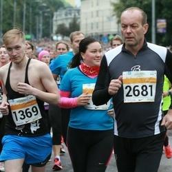 SEB Tallinna Maratoni Sügisjooks 10 km - Ander Heidmets (1369), Üllar Roostoja (2681)