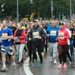 SEB Tallinna Maratoni Sügisjooks 10 km - Aleksandra Belova (4006), Ülo Kivine (4619)