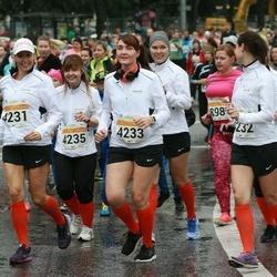 SEB Tallinna Maratoni Sügisjooks 10 km - Ulla Parelo (4231), Marina Doroshenko (4232), Anna Terpitskaja (4233)