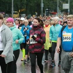 SEB Tallinna Maratoni Sügisjooks 10 km - Tiia Luide (3559), Andrus Everst (8466), Liina Sarapuu (8512)