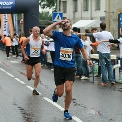 SEB Tallinna Maratoni Sügisjooks 10 km - Ago Veilberg (33), Espen Egeland Valseth (3030)