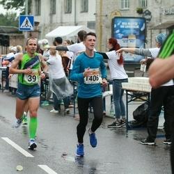 SEB Tallinna Maratoni Sügisjooks 10 km - Ahto Jakson (39), Denis Barausov (1406)