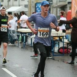 SEB Tallinna Maratoni Sügisjooks 10 km - Rinel Pius (169), Andreas Veeret (256)
