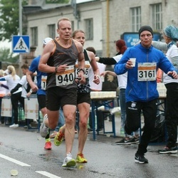 SEB Tallinna Maratoni Sügisjooks 10 km - Pasi Päällysaho (940), Reimo Simsalu (3161)