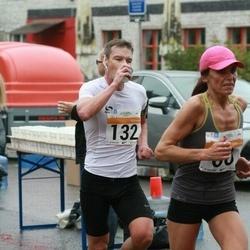 SEB Tallinna Maratoni Sügisjooks 10 km - Liliana Torn (60), Markus Mägi (132)