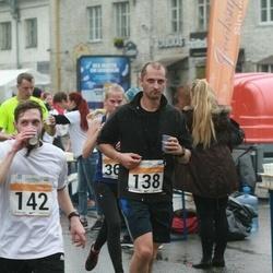 SEB Tallinna Maratoni Sügisjooks 10 km - Sven Jensen (138), Evgeny Chubarov (142)